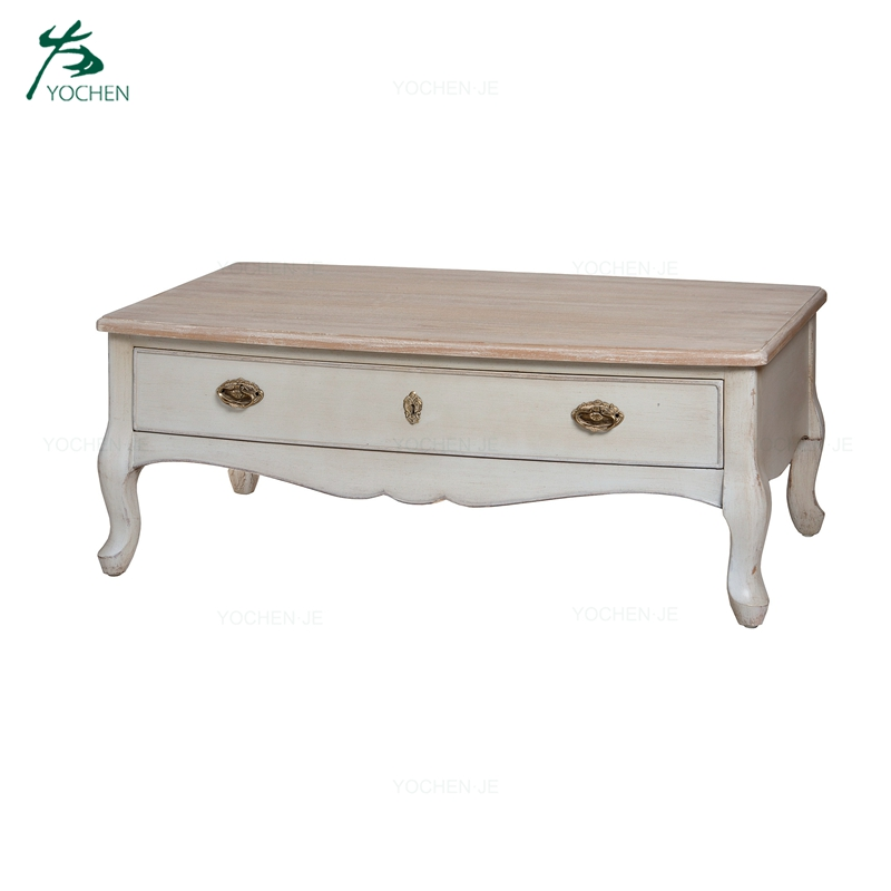 living room furniture sets two drawer wood coffee table