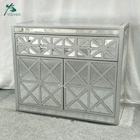 bedroom home furniture wooden mirror chest drawer furniture