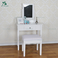 cheap white make up standardize dressing table