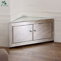 Mirrored Corner TV Stand Wholesale Mirrored Furniture