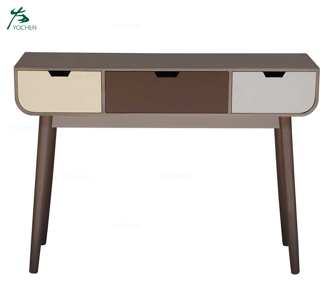 Wholesale custom shabby dresser white dressing table with mirror
