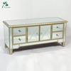 living room mirrored furniture decorative new model tv cabinet
