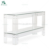 Living room furniture mirrored acrylic console table
