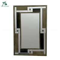 Shabby Chic Large Tall Wooden Frame Wall Mirror