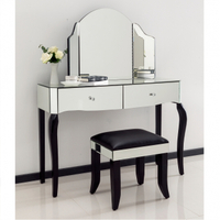 dressing table furniture console table and mirror set