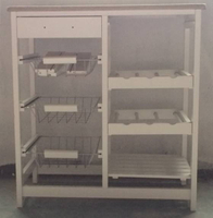 Rolling Rack Industrial Kitchen Cart