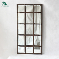 shabby chic metal design floor mirror decorative wall mirror