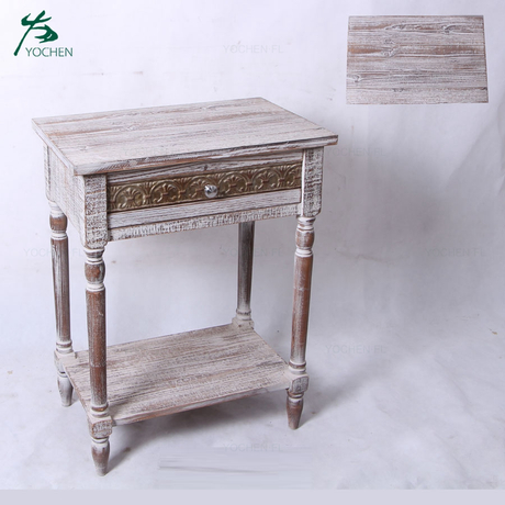 American provincial furniture natural color wood cabinet furniture