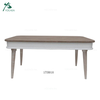 Royal home furniture sets wooden white living room coffee table