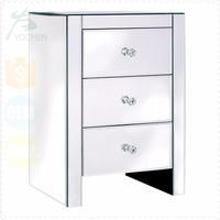 Cheap Price Venetian Contemporary 3 Drawer Bedside Table