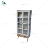 Office storage wood filing cabinet book cupboard designs
