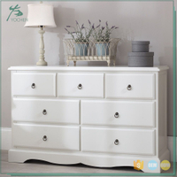 furniture painted corner cabinet wood cabinet with many drawers