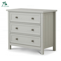 Bedroom Modern Furniture Chest Small Wooden 3 Drawer Storage Cabinet