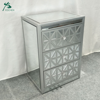 Hot Sale Classic Design mirrored home furniture decorative cabinet