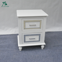 bedroom white glass nightstands bedside table