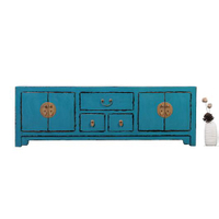 Solid wood antique chinese furniture wooden tv cabinet