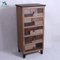 Solid wood furniture tallboy chest of drawers