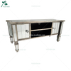 Venetian Mirrored TV Stand Cabinet Mirror Glass TV Furniture