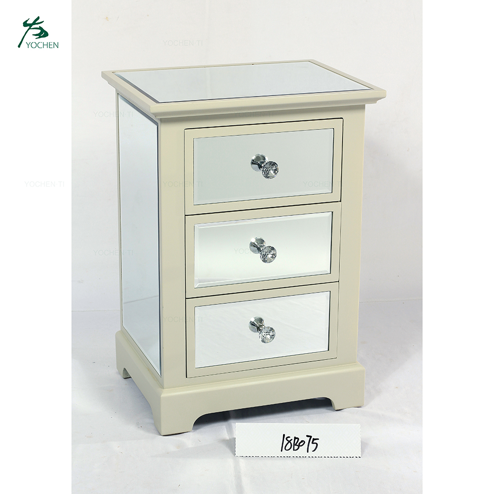 Luxury Gold Chest Of Drawers Mirrored Furniture