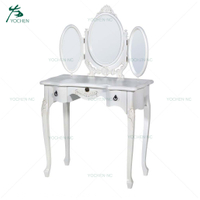 antique bedroom furniture dressing table mirror white