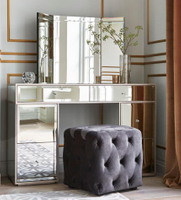 mirror console table bedroom furniture mirrored dressing table
