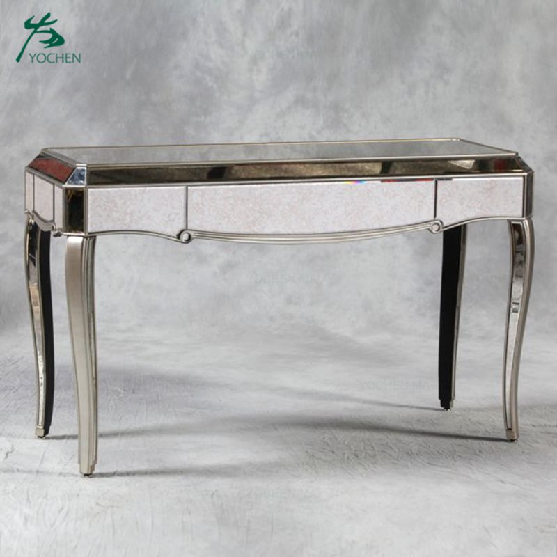 Home furniture hall way mirrored console table