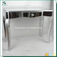 Hot Sale Modern Silver Mirror Luxury Console Table
