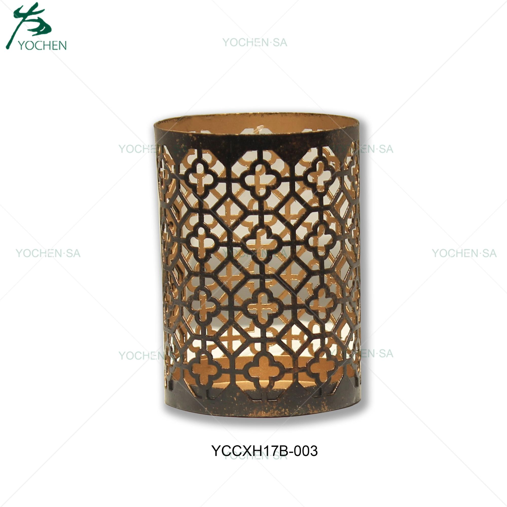 Candle Moroccan Copper Jar Holder