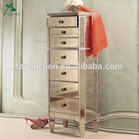 wholesale antique mirror table mirrored chest of drawers