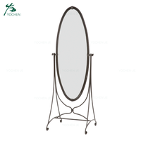 Home bedroom furniture standing dressing mirror floor standing mirror