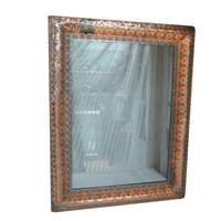 Home decor Antique Metal Frame Decoration Wall Mirror