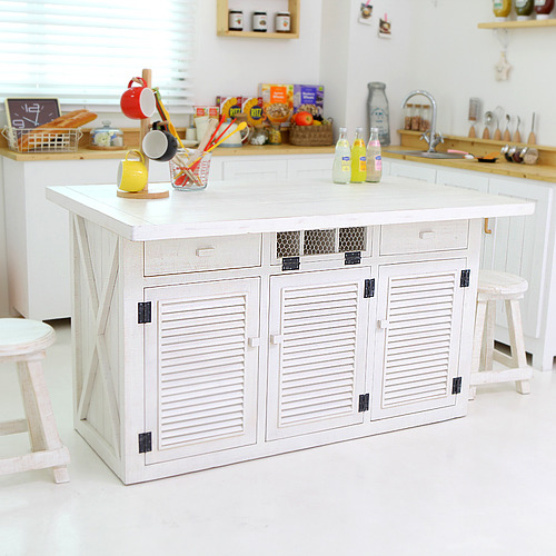 shabby chic decoration solid wood furniture