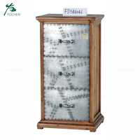 living room wood decorative wash white small wood storage cabinet
