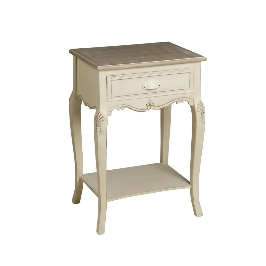 WHITE WOODEN BEDSIDE TABLE NIGHTSTAND TABLES FOR BEDROOM TABLE FURNITURE