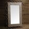 Large rectangle framed moroccan wall mirror