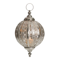 Promotion Sale Wedding Item Metal Galvanized Votive Hanging Lantern