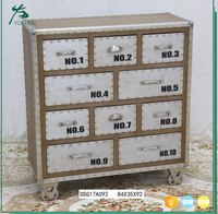 living room wood movable cabinet small drawer