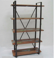shabby chic storage shelf unit furniture