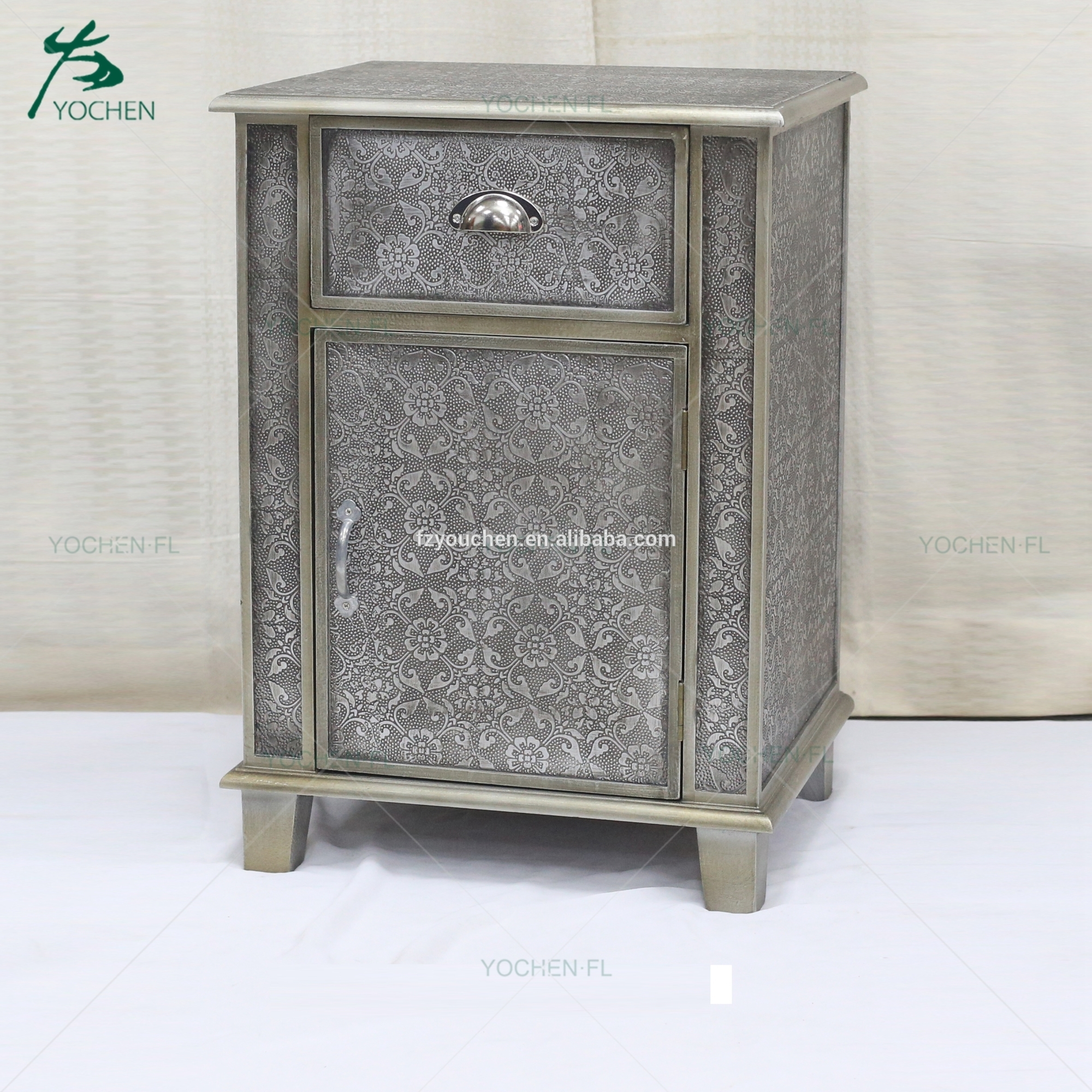living room cabinet solid wood table modern embossed cabinet