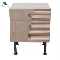 living room furniture American style wood drawer storage cabinet