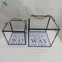 Decorative Garden wedding Metal Lantern Candle Holder