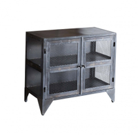 rustic door design metal storage cabinet industrial furniture