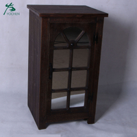 european style furniture wooden mirror living room storage cabinet