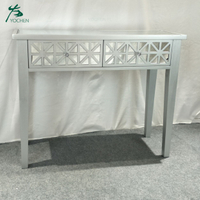 vintage living room furniture antique mirror console table