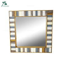 Reclaimed Wood Frame Wall Mirror Frame Vintage Mirror