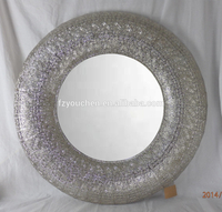 handcraft decorate sheffield home silver mirror