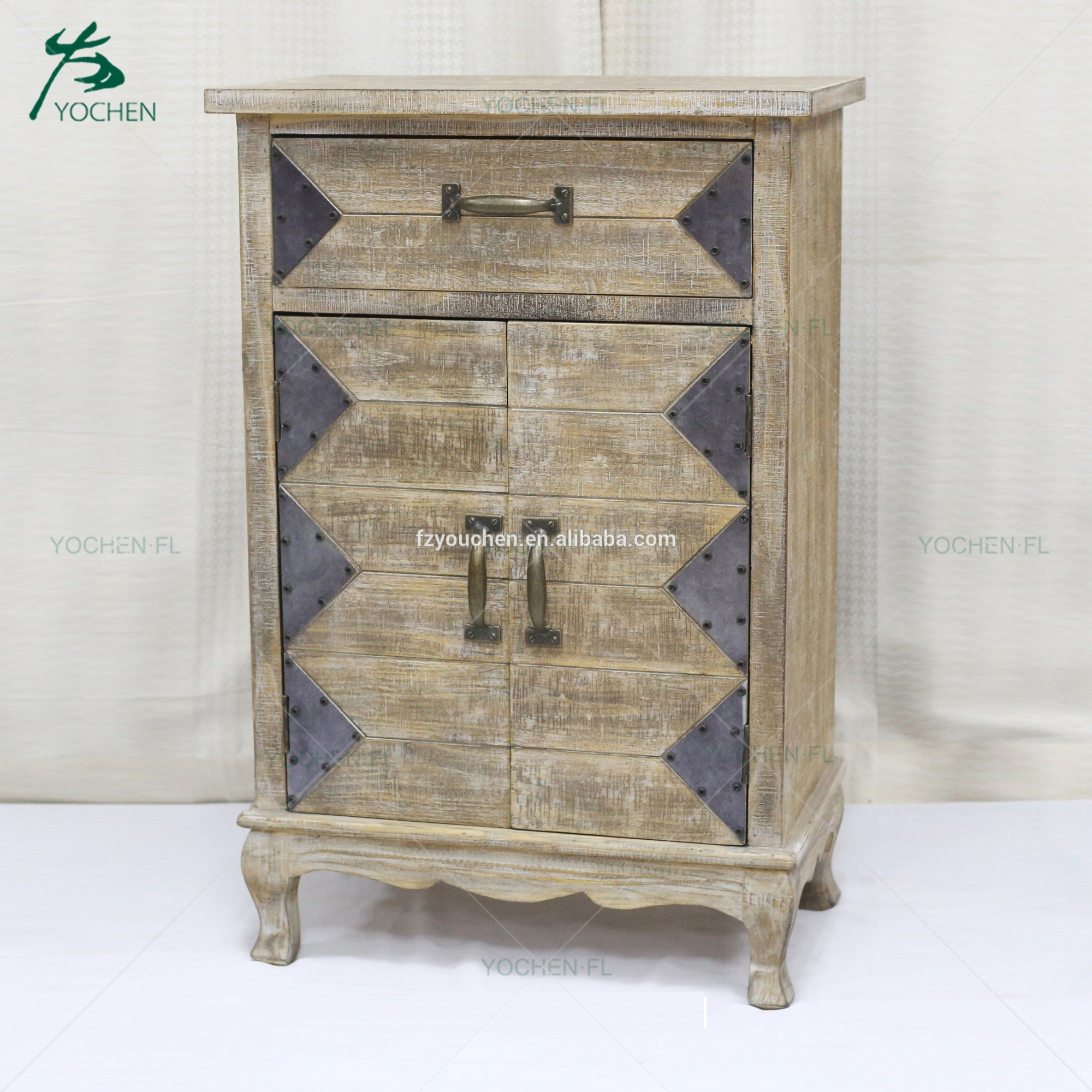 cheap antique furniture sideboard wooden cabinet with drawers
