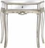 Silver Painted Venetian Mirrored Antique Sideboard