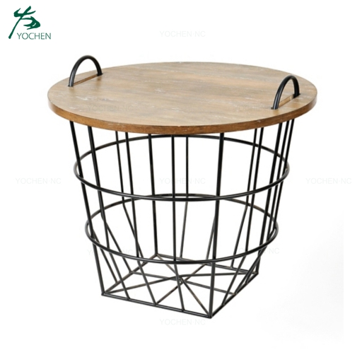 Rustic storage wood metal centre table photos industrial coffee table
