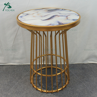 accent small round mdf table